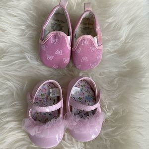 Baby Girl Shoes Bundle Mary Janes Slip Ons